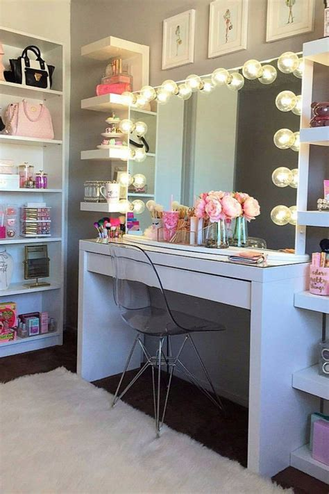 bedroom impressive makeup vanities ikea  magnificent
