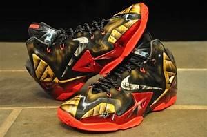 "Nike LeBron 11 ""Mark 6"" Ironman Customs by Dez Customz ..."