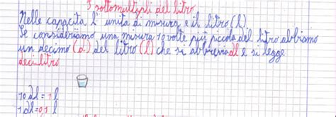 Quanti Bicchieri Sono Un Litro Di Acqua by Didattica Matematica Scuola Primaria I Sottomultipli