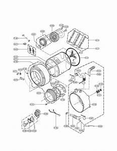 Lg Wm2140cw Washer Parts