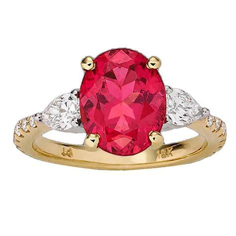 spine l for sale pink spinel ring 3 39 cararts for sale at 1stdibs