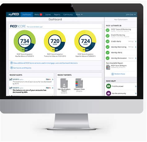 fico 174 scores credit reports from all 3 bureaus myfico