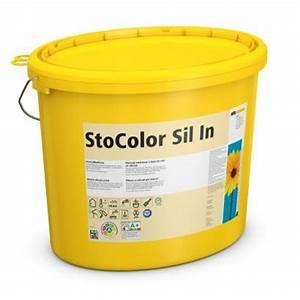 Sto Farbe Weiß : stocolor sil in innensilikatfarbe wei 15 liter ~ Orissabook.com Haus und Dekorationen