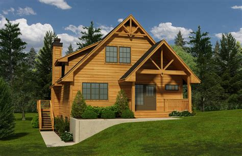 Vacation Homes House Plan #155-1012