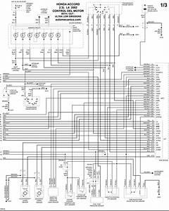Honda - Diagramas Control Del Motor 2002 - Graphics - Esquemas