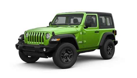 jeep wrangler exterior colors revealed vande hey