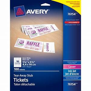 7 best images of avery printable event tickets avery for Avery event ticket template