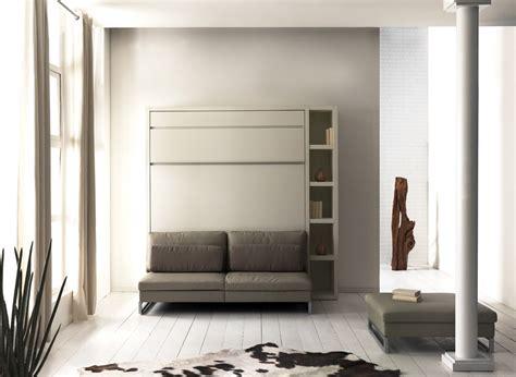 lit canapé escamotable meuble lit autoporteur loft avec canapé en couchage 140