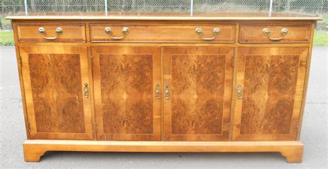 Yew Sideboards by Yew Four Door Sideboard Base