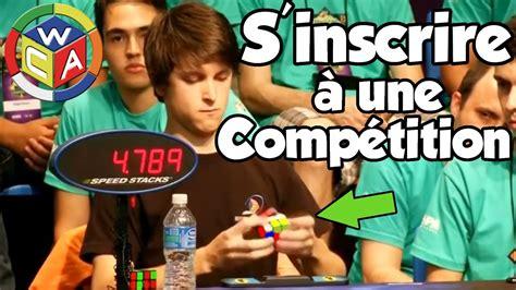 Comment S'inscrire à Une Compétition De Rubik's Cube