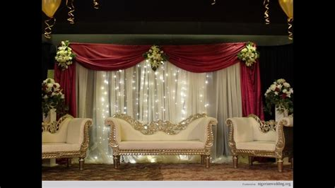 Wedding Stage Flower Decoration Ideas 2018 YouTube