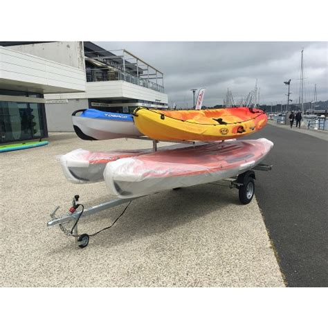Porte Kayak Voiture by Remorque Kayak