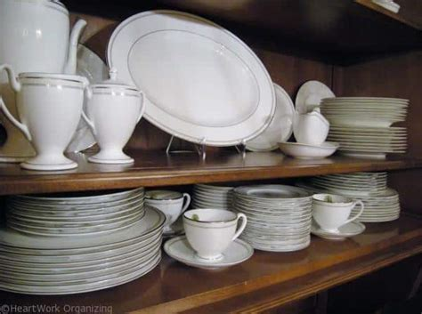 how to arrange a china cabinet how to arrange a china cabinet heartwork organizing