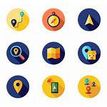 Gps Icon Icons Navigation Location Map Route