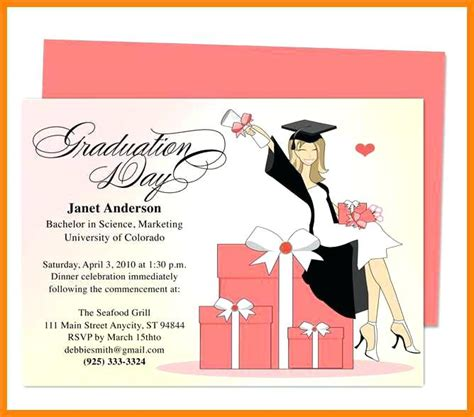 free graduation invitation templates free graduation invitation templates free graduation