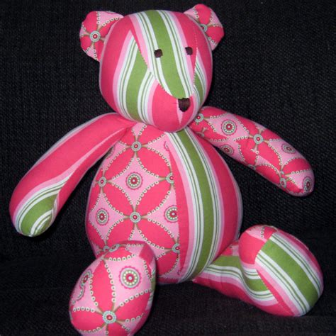 personalized patchwork bear  patchwork bear