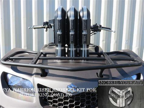Suzuki King 400 Accessories by Sya 2008 2017 Suzuki King 400 Warrior Snorkel Kit