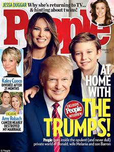 Donald and Melania Trump have date night at Ralph Lauren's ...