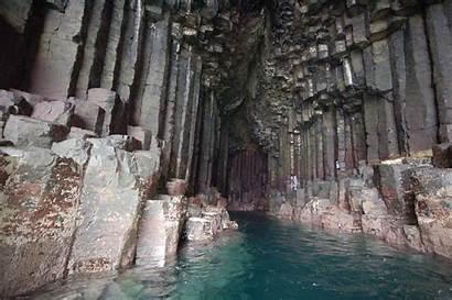 Cave Fingal Caves Fingals Scotland Staffa Island