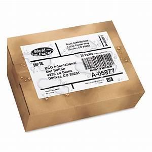 weatherproof shipping labels w trueblock by averyr ave5526 With avery weatherproof labels staples