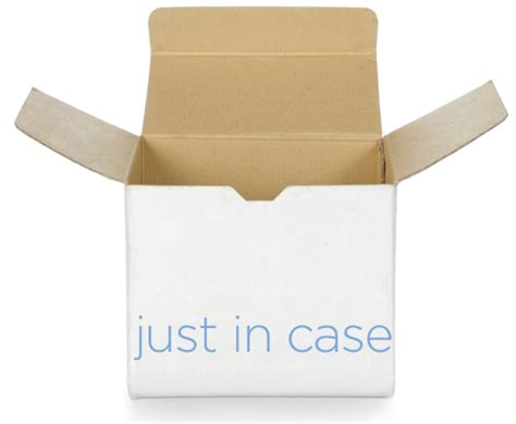 A Little Box Of Just In Case