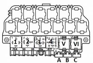 Vw Passat 1998-2006  B5  Fuse Box Diagram