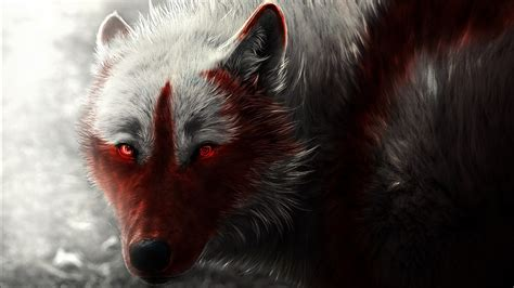 scary wolf wallpapers hd wallpapers id