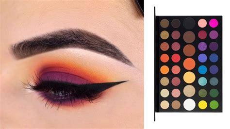 image result  james charles palette  eyeshadow tutorial eyeshadow makeup makeup morphe