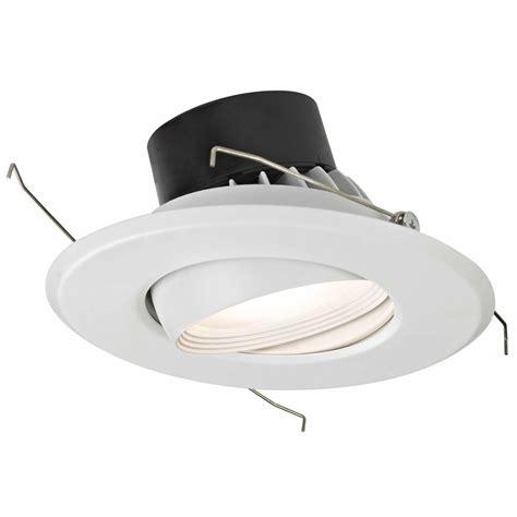 5 inch led recessed light retrofit led adjustable eyeball retrofit trim for 5 or 6 inch