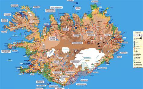 iceland maps printable maps  iceland