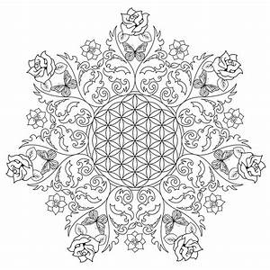 Coloring Pages: Flower Of Life Free Coloring Pages For ...
