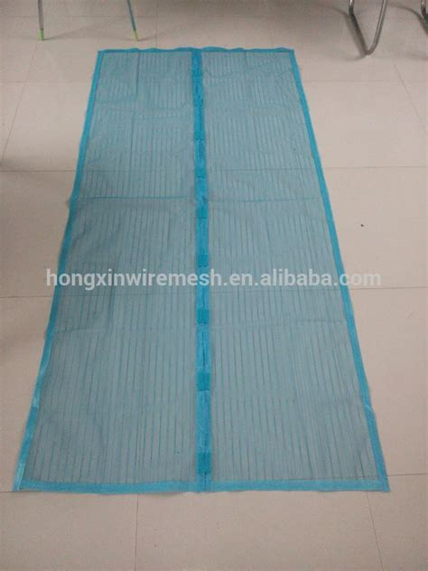 polyester screen netting material magnetic mosquito net