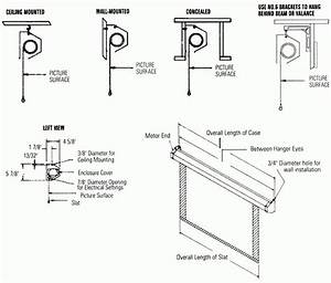Da Lite Motorized Screen Wiring Diagram