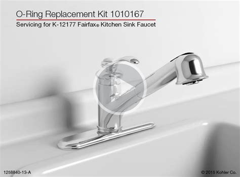 kitchen sinks used o ring replacement on the k 12177 5641