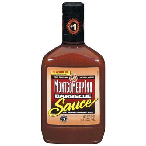 bbq sauces montgomery inn barbecue sauce 28 oz walmart com