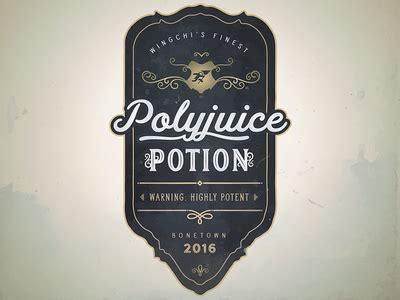 custom drink label polyjuice potion  akhil dakinedi