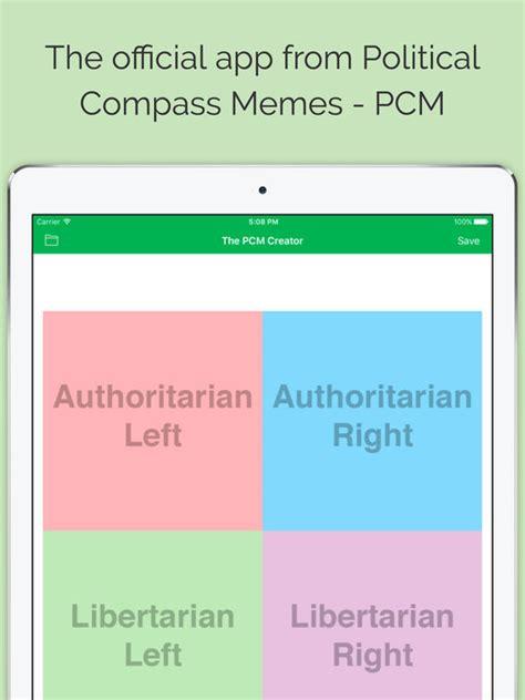 Political Compass Memes - political compass meme generator pcm apps 148apps