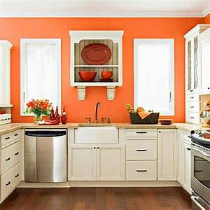 Orange kitchen decor on pinterest orange kitchen orange for Kitchen colors with white cabinets with film reel wall art