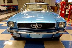 1965 Ford Mustang Coupe – Blue Pearl – A&E Classic Cars