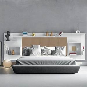 Tete De Lit Rangement 140 : t te de lit avec rangements marie claire maison ~ Teatrodelosmanantiales.com Idées de Décoration