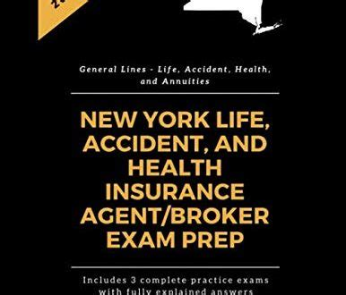 Apply for a new york insurance license. New York Life, Accident and Health Insurance Agent/Broker Exam Prep (General Lines - Life ...
