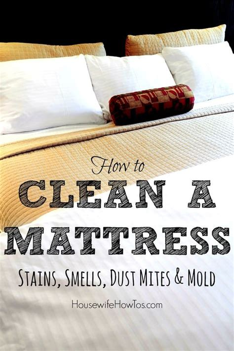 how do you clean a mattress get rid of mattress stains even the ones you don t want