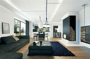 Eclairage Salon Sejour : indirekte beleuchtung led 75 ideen f r jeden wohnraum ~ Melissatoandfro.com Idées de Décoration