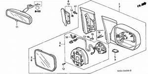 30 Honda Odyssey Side Mirror Assembly Diagram