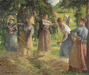 Eragny Art De Vivre : hay harvest at ragny 1901 by camille pissarro ~ Dailycaller-alerts.com Idées de Décoration