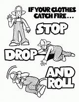 Coloring Week Fire Prevention Popular sketch template