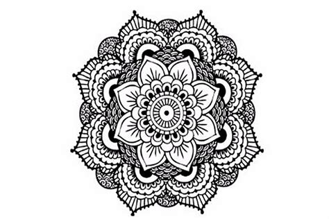 mandala temporary tattoo cathedral coloring tatouages