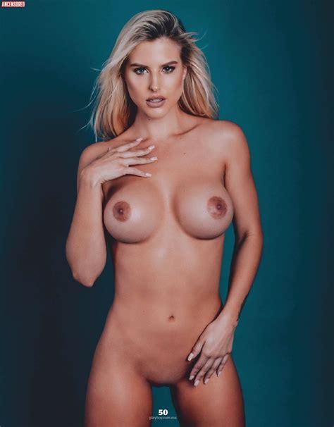 Naked Brennah Black In Playboy Magazine M Xico