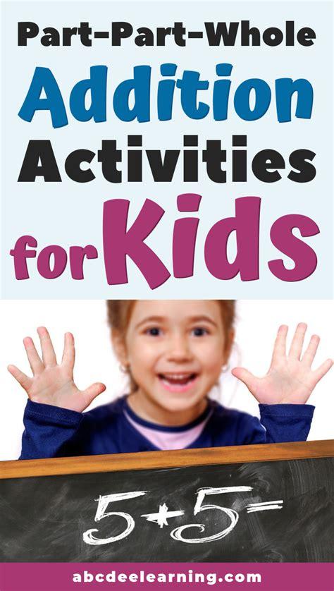proven addition activities  kindergartners