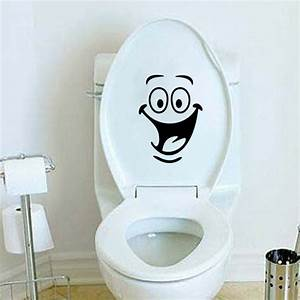 Kids Room Wall Sticker Toilet Bathroom Waterproof